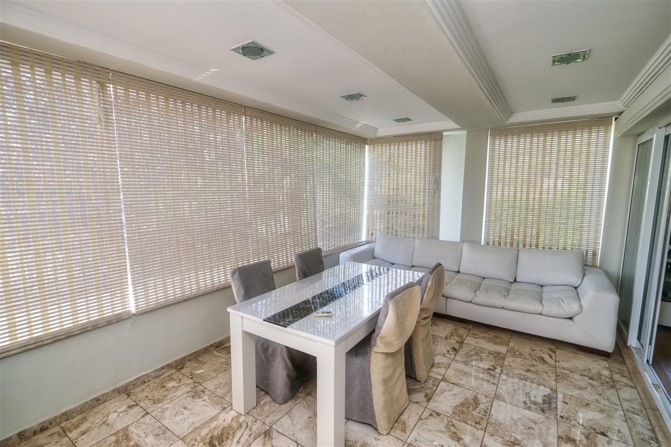 Двухуровневая квартира 3+1 с мебелью в Кемере - Фото 20