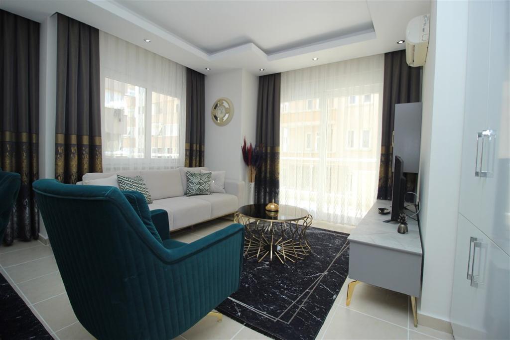 Двухкомнатная квартира с мебелью в Махмутларе - Фото 4