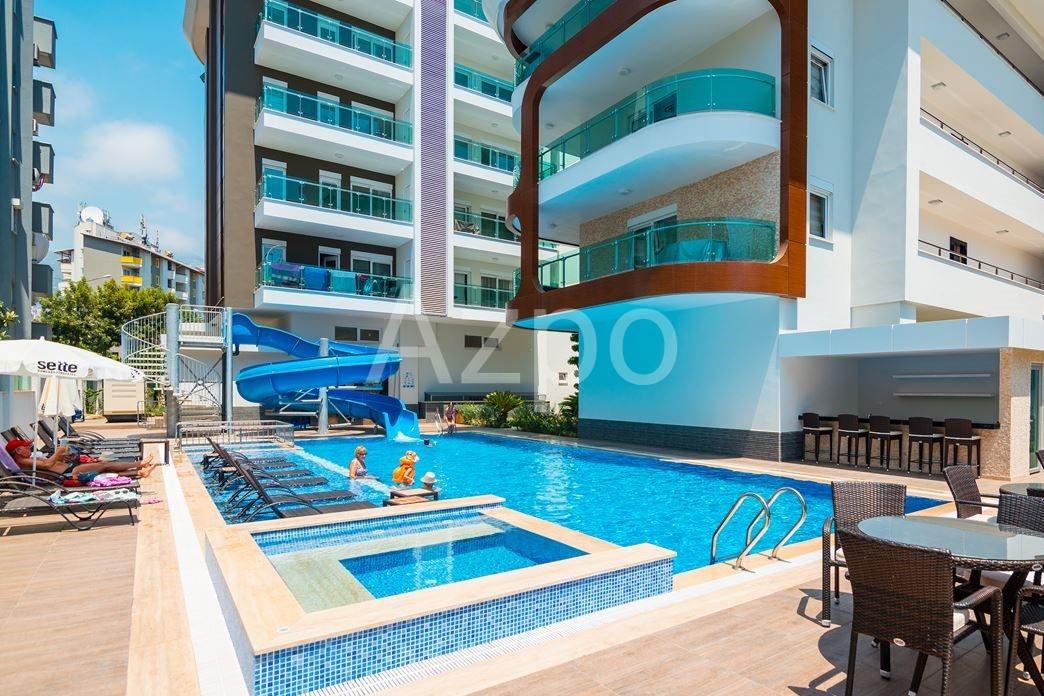 Квартира в центре Алании с крытым бассейном - Фото 8