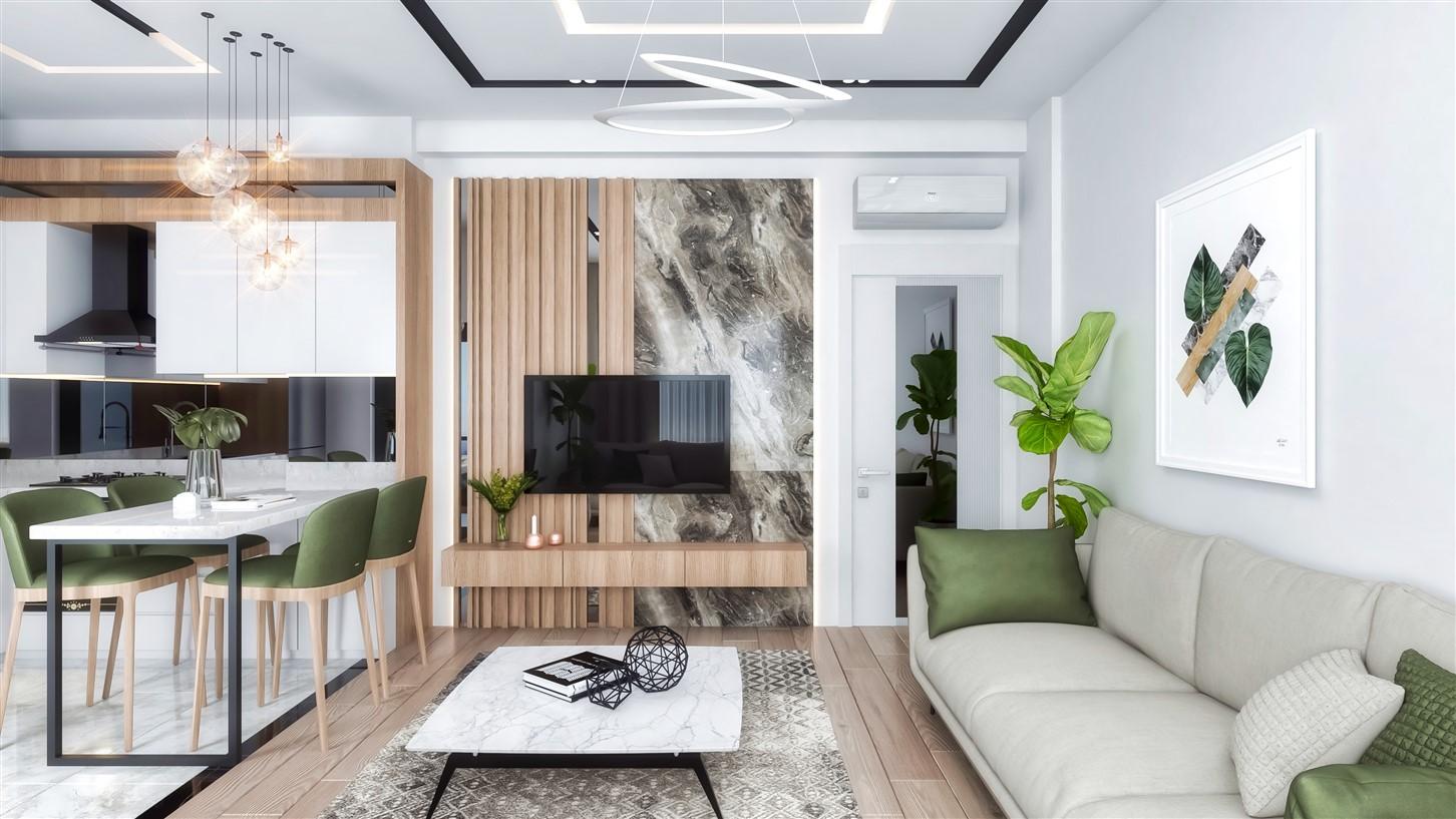 Современные квартиры в элитном комплексе Антальи - Фото 44