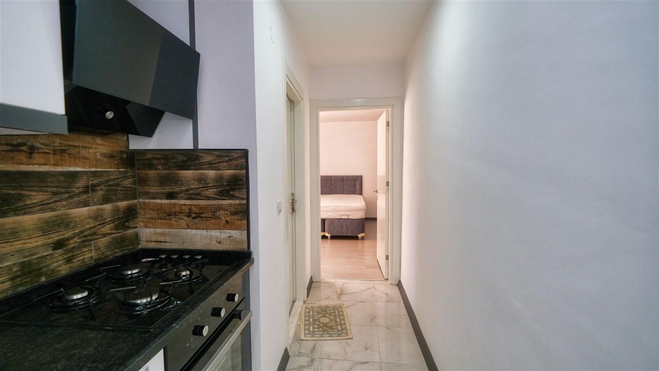 Двухкомнатная квартира с мебелью в центре Антальи - Фото 20