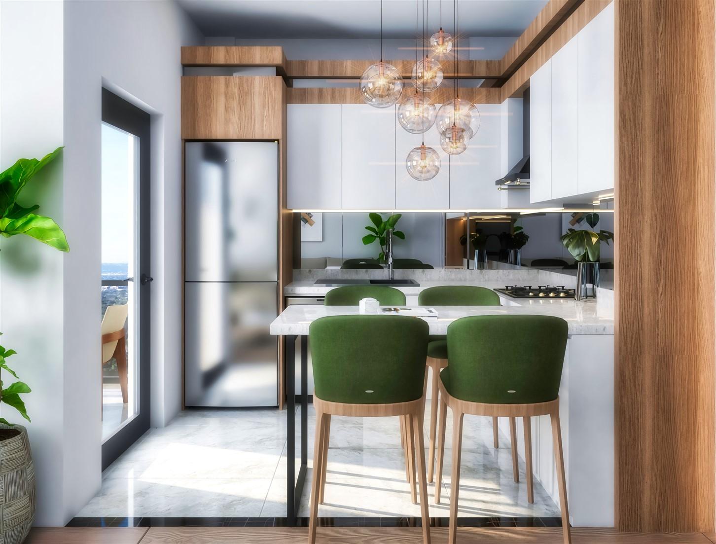 Современные квартиры в элитном комплексе Антальи - Фото 46