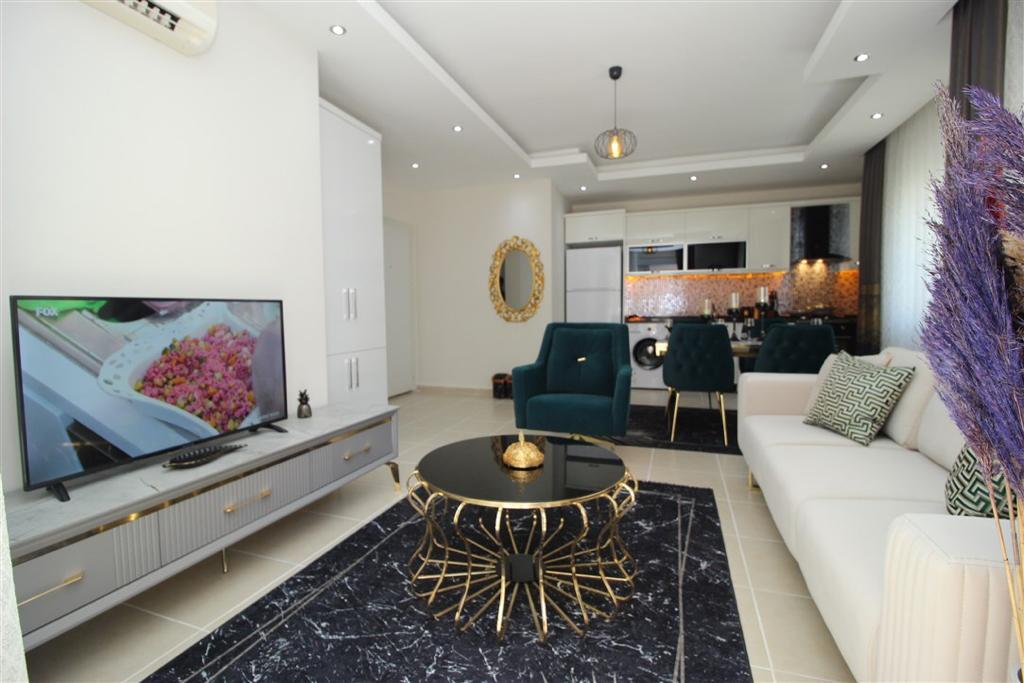 Двухкомнатная квартира с мебелью в Махмутларе - Фото 6