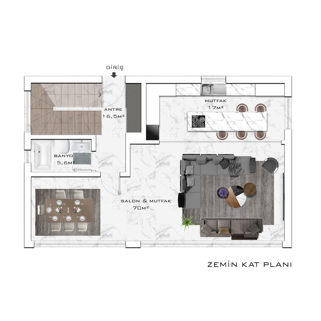 Инвестиционный проект жилого комплекса частных вилл в посёлке Авсаллар - Фото 23