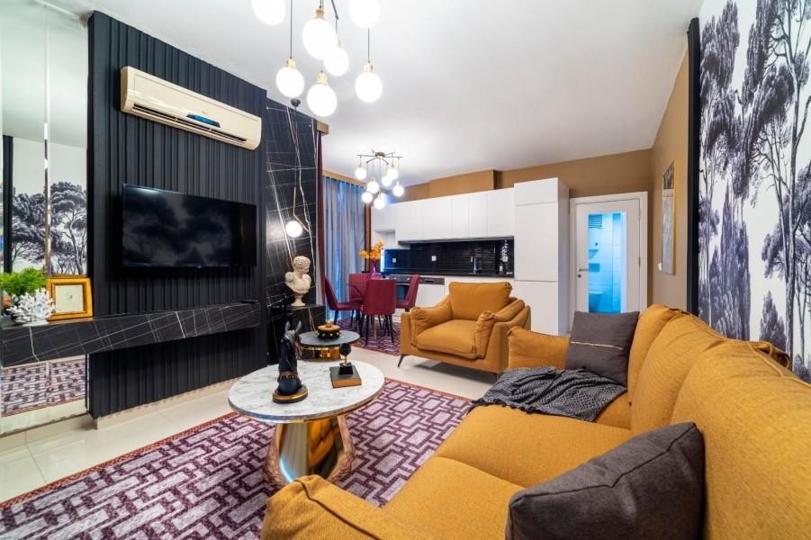 Уютная меблированная квартира 1+1 в роскошном жилом комплексе с инфраструктурой - Фото 25