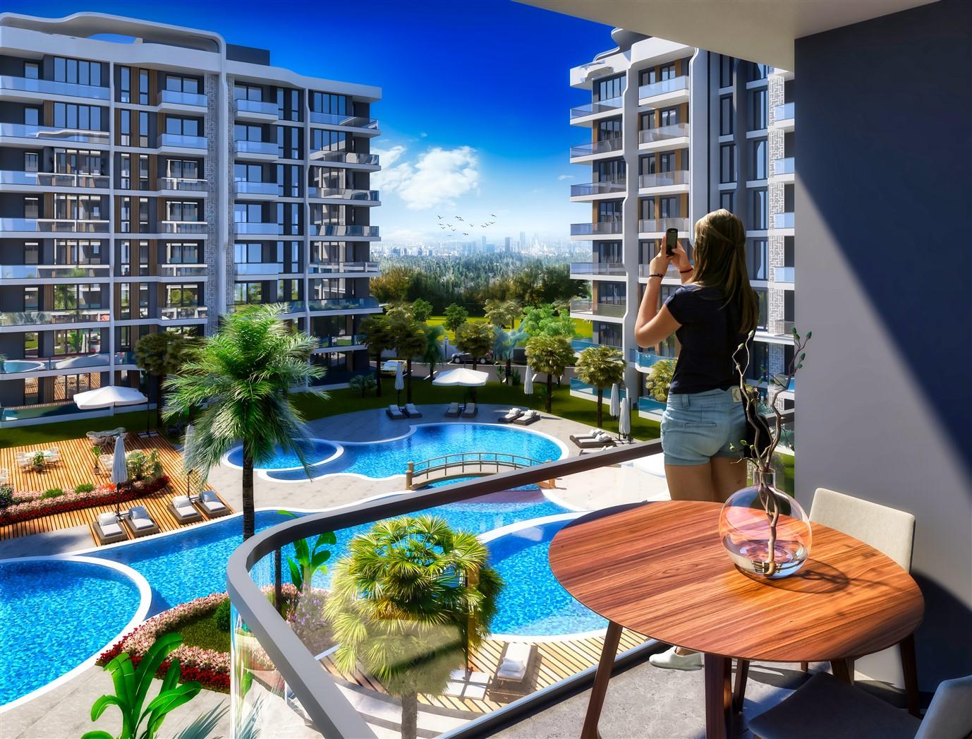 Современные квартиры в элитном комплексе Антальи - Фото 15