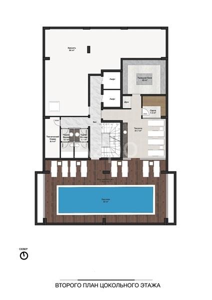 Новые квартиры разных планировок в центре Алании - Фото 11