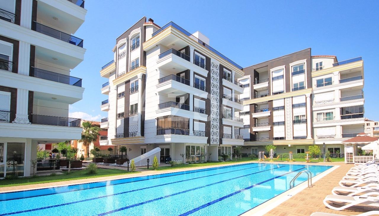 Квартиры 1+1 и 2+1 в комплексе в районе Хурма Коньяалты Анталия - Фото 1