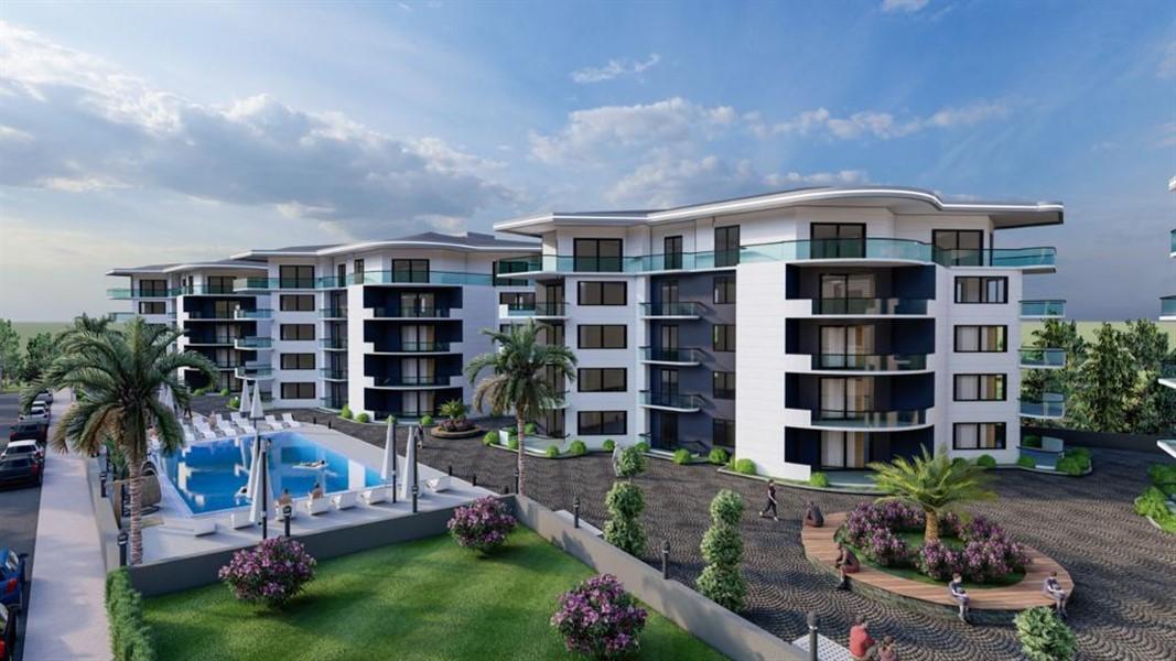 Роскошные видовые квартиры в Махмутларе - Фото 1
