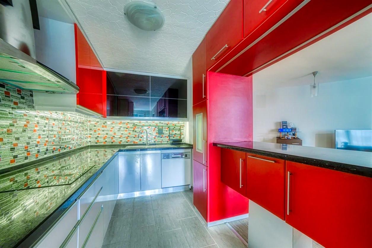 Квартира 2+1 в жилом комплексе у берега Средиземного моря - Фото 9