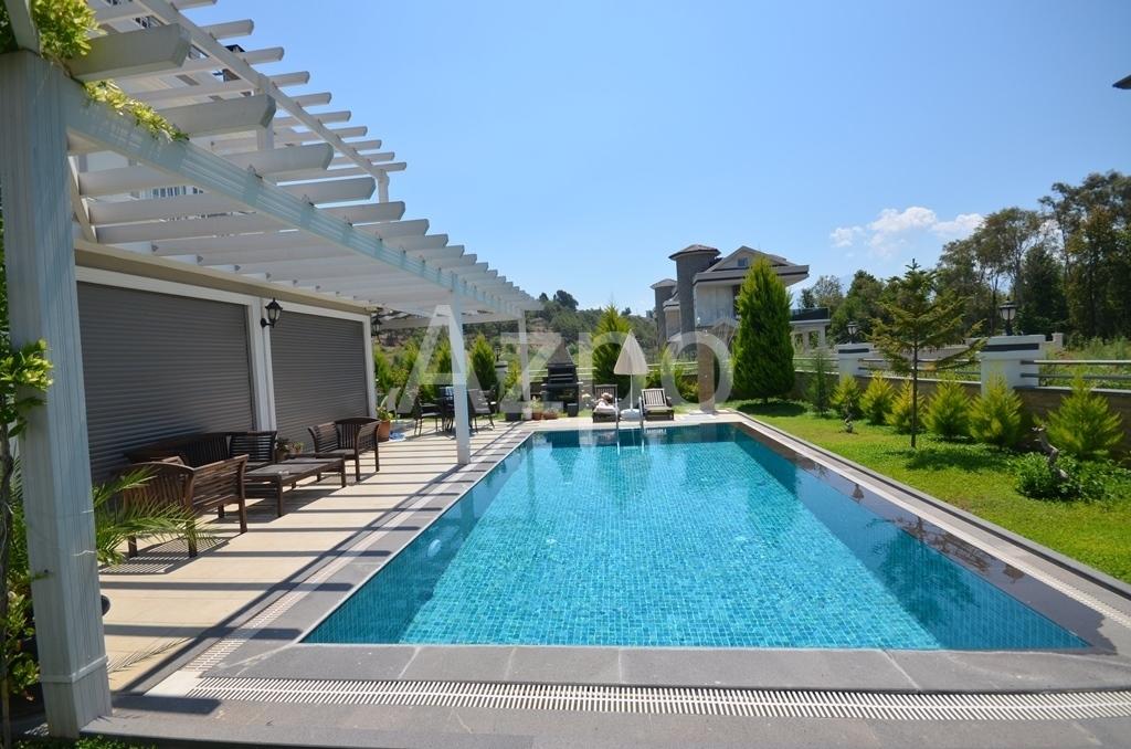 Вилла 4+1 с бассейном и садом в районе Чалыш (Фетхие) - Фото 4