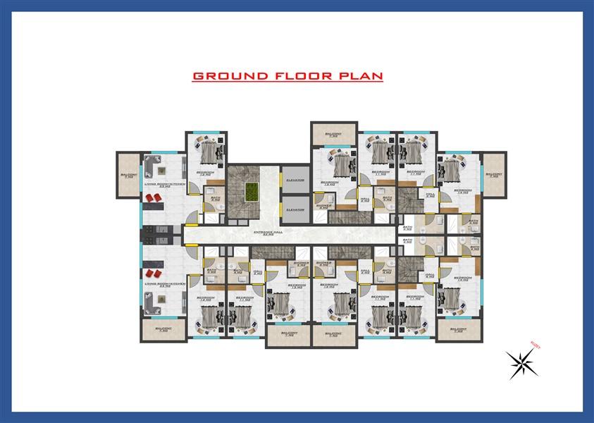 Новый проект жилого комплекса в районе Оба - Фото 35