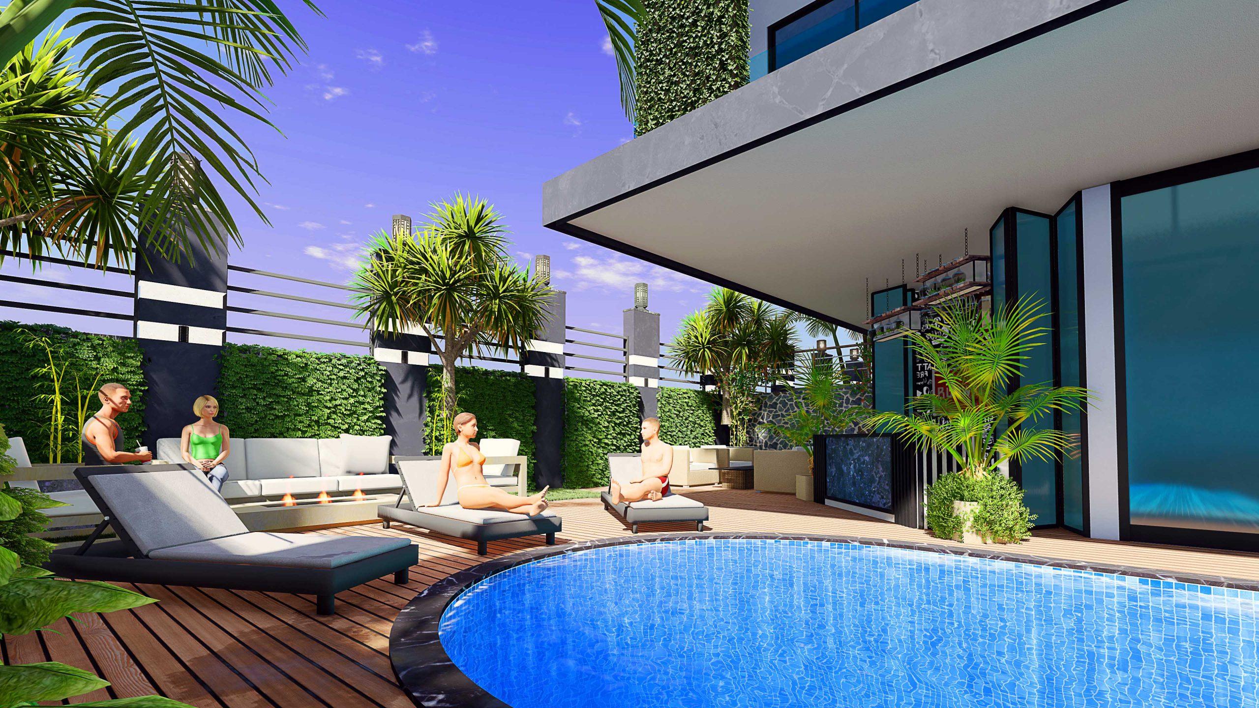 Новые квартиры в центральном районе Аланьи - Фото 4