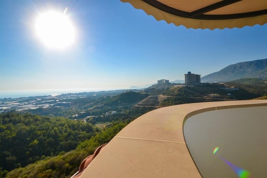 Шикарная трёхуровневая вилла 3+1 с потрясающим видом на Средиземное море - Фото 33