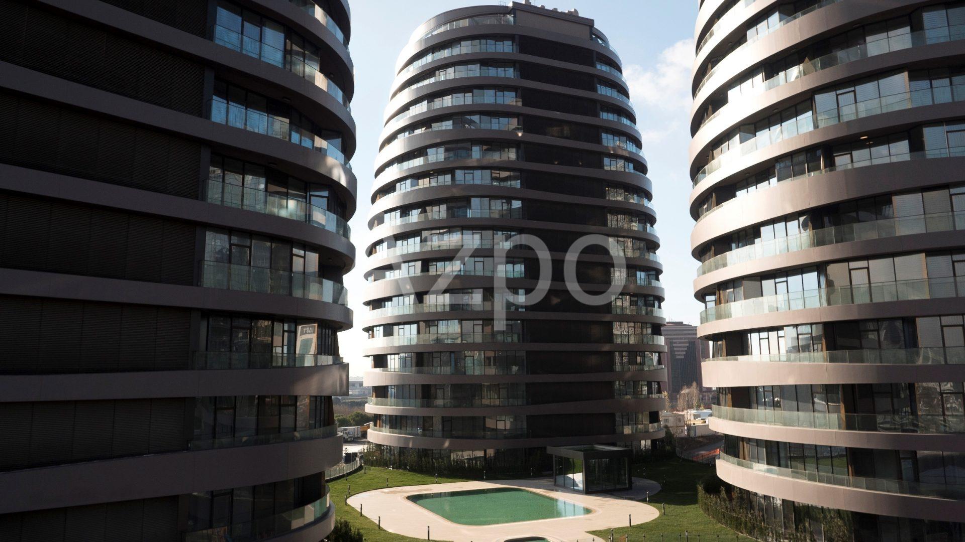 Роскошные квартиры в готовом проекте жилого комплекса в Стамбуле - Фото 4