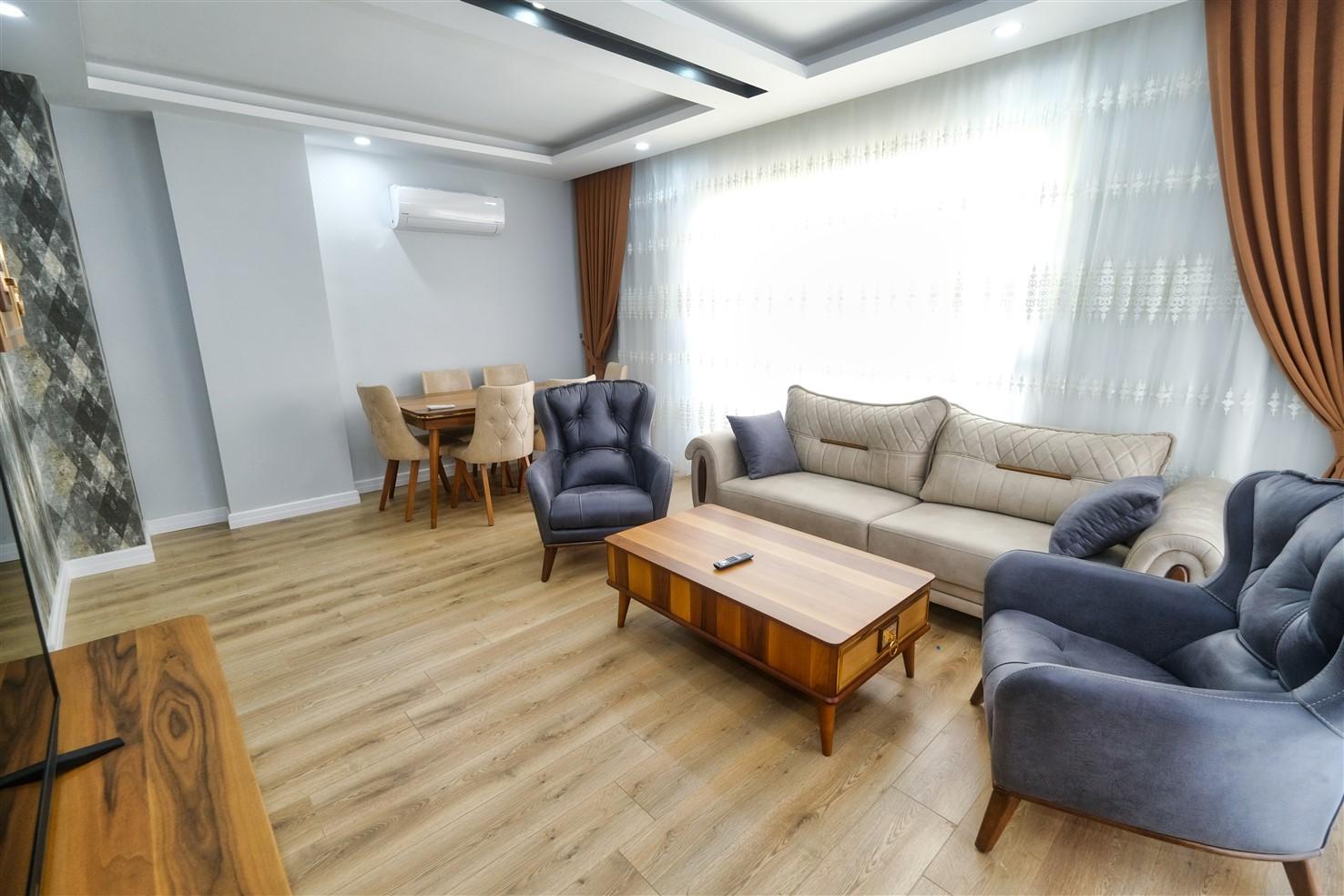 Трёхкомнатная квартира в центре Антальи - Фото 21