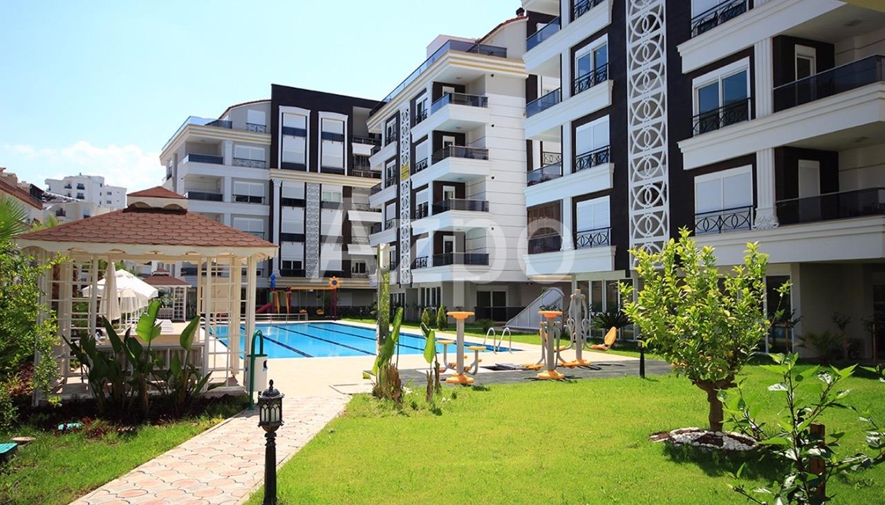 Квартиры 1+1 и 2+1 в комплексе в районе Хурма Коньяалты Анталия - Фото 6