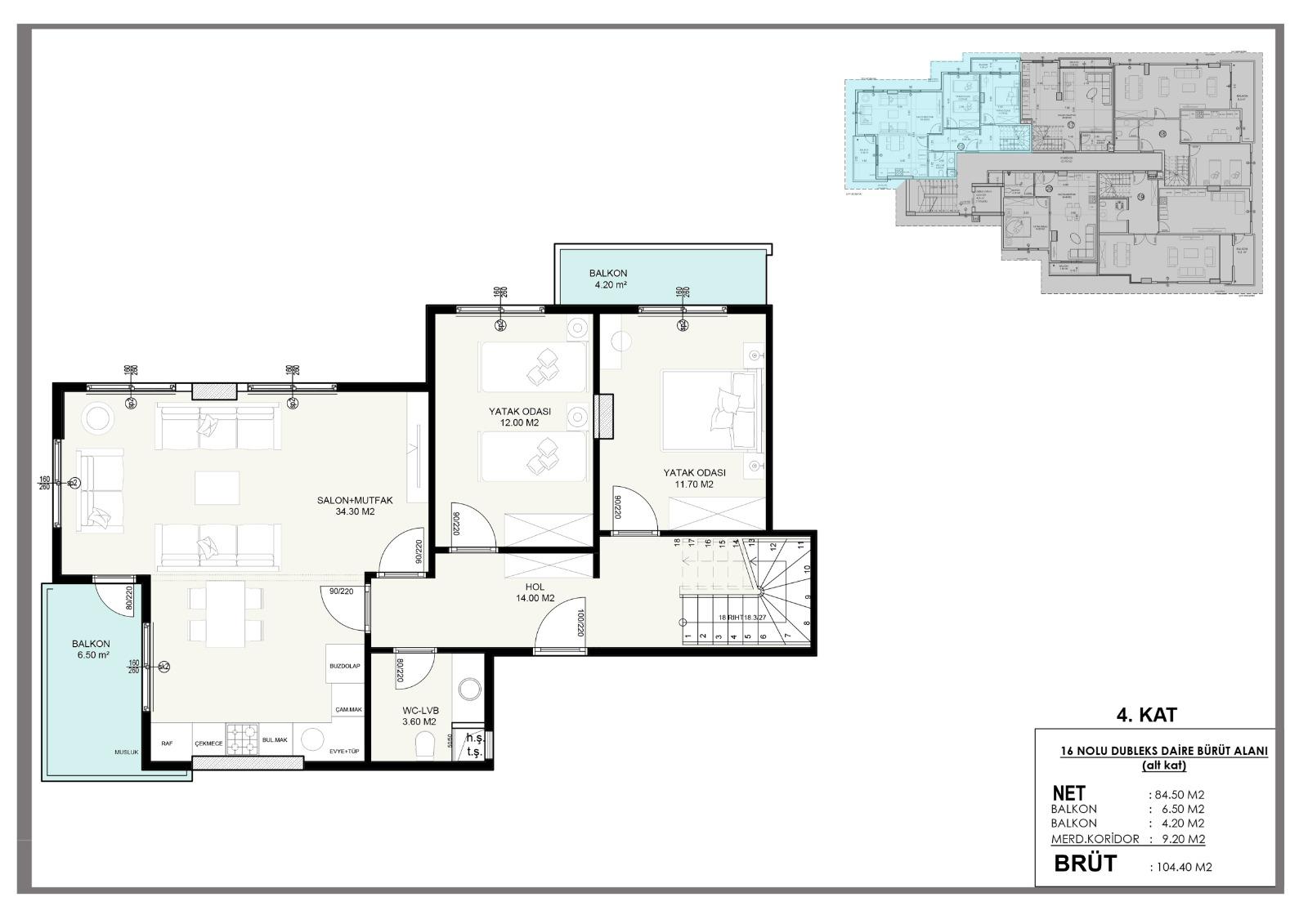 Новые квартиры в центральном районе Аланьи - Фото 9