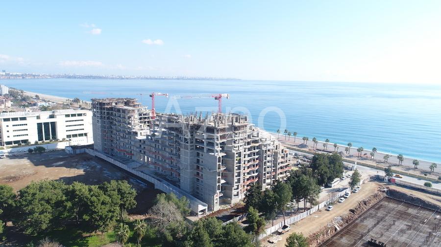 Luxury проект на первой береговой линии в Коньяалты Анталия - Фото 22