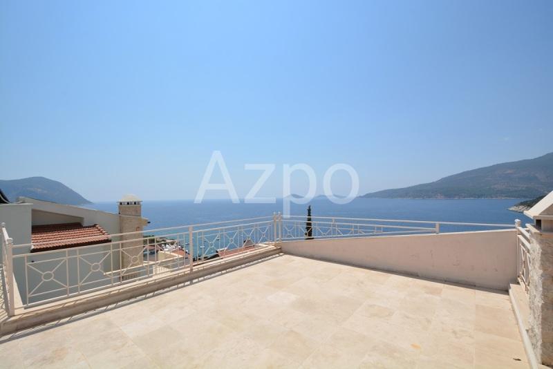Меблированная вилла 4+1 с видом на бухту Каламар в Калкане - Фото 8