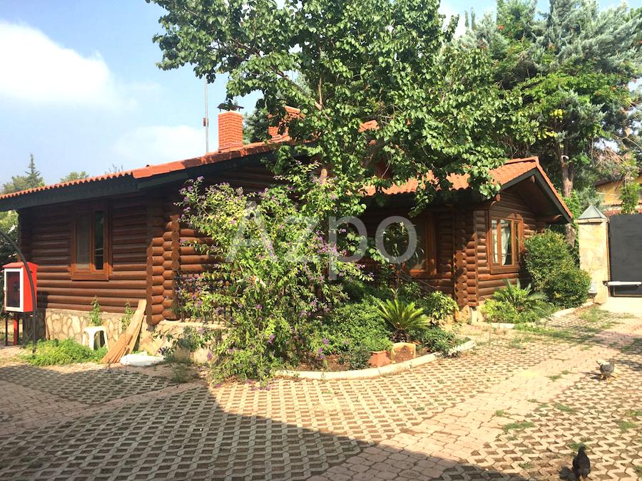 Дом из натурального дерева в Анталии - Фото 8
