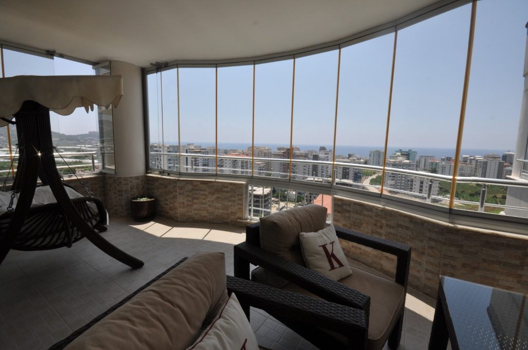 Меблированная квартира 2+1 с видом на море - Фото 25
