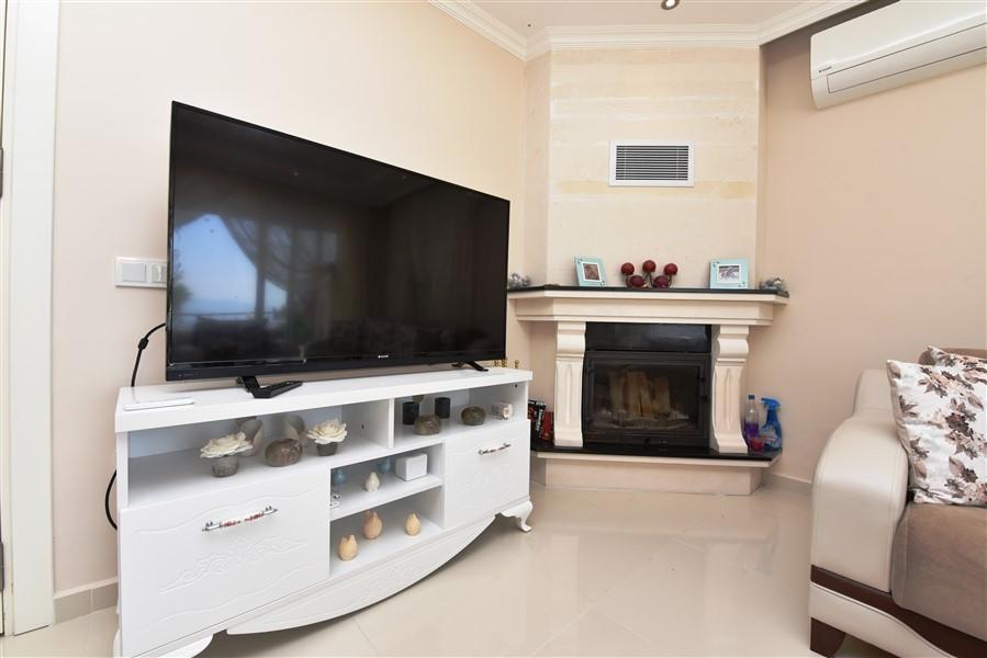 Двухуровневая вилла 3+1 с мебелью в районе Каргыджак - Фото 15