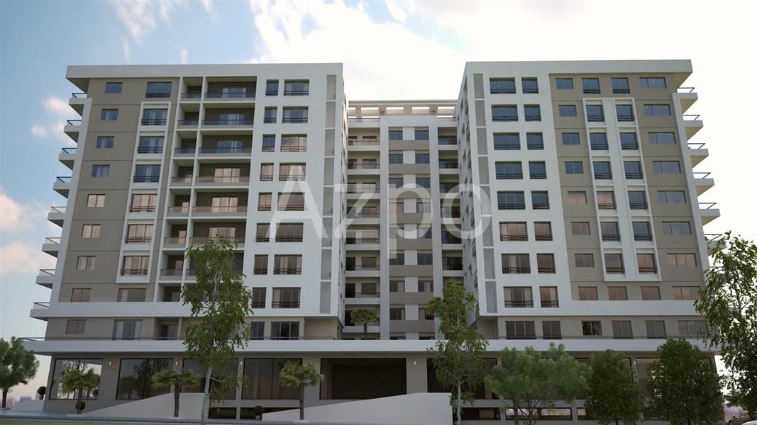 Трёхкомнатная квартира в городе Измир - Фото 1
