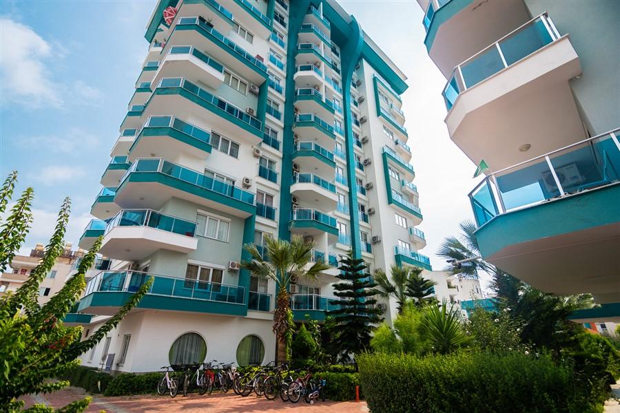 Меблированная квартира 1+1 в районе Махмутлар