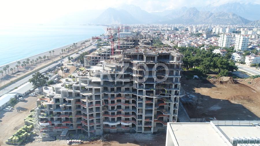 Luxury проект на первой береговой линии в Коньяалты Анталия - Фото 19