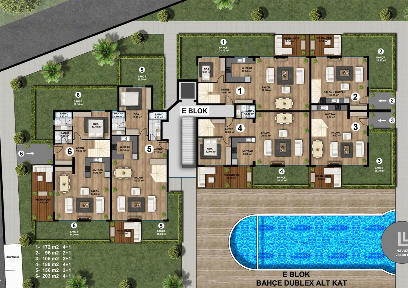 Роскошные квартиры в новом жилом комплексе с инфраструктурой - Фото 19