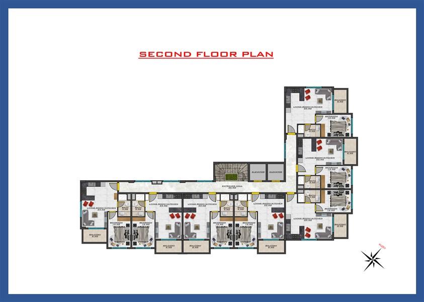 Новый проект жилого комплекса в районе Оба - Фото 32