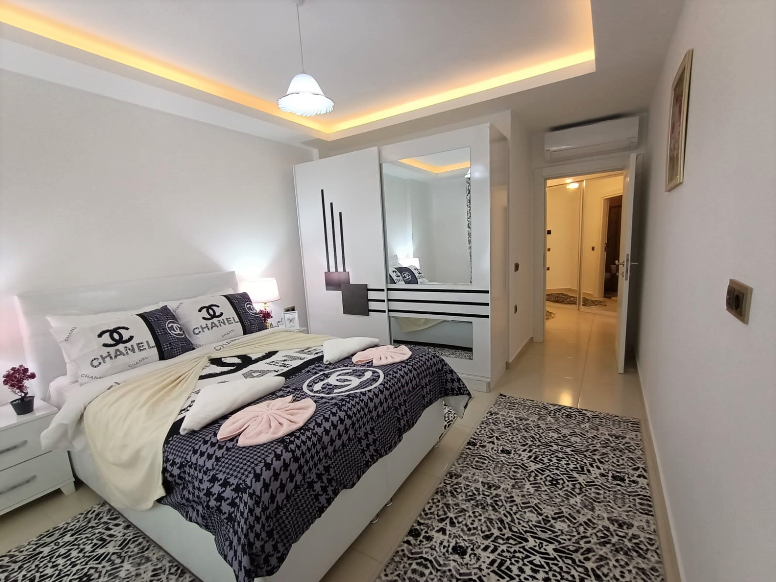 Двухкомнатная квартира с мебелью в районе Махмутлар - Фото 15