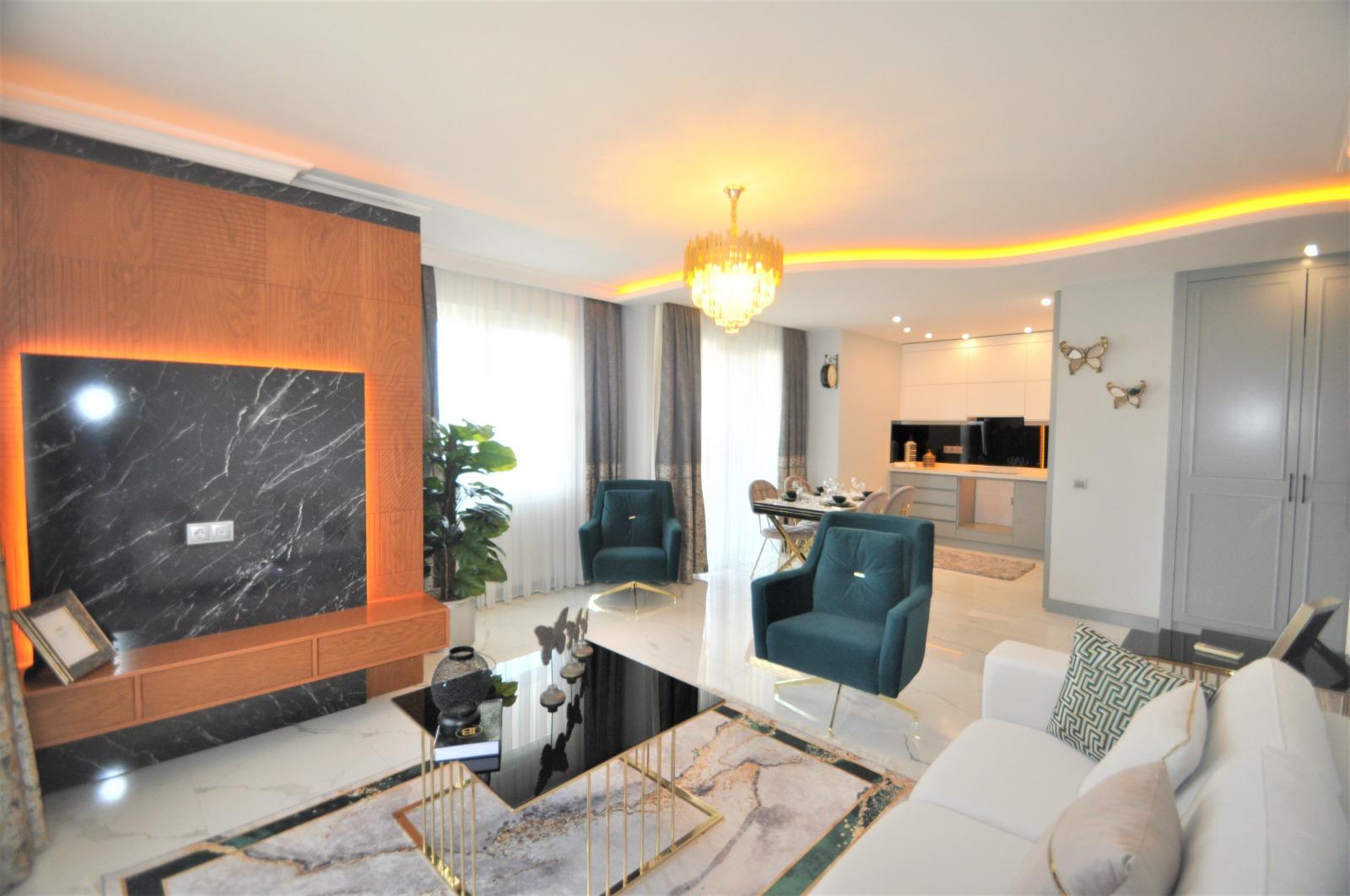 Просторная трёхкомнатная квартира с мебелью в Тосмуре - Фото 14