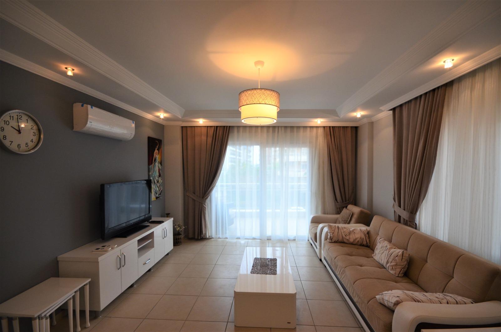 Двухкомнатная квартира с мебелью и бытовой техникой в районе Тосмур - Фото 6