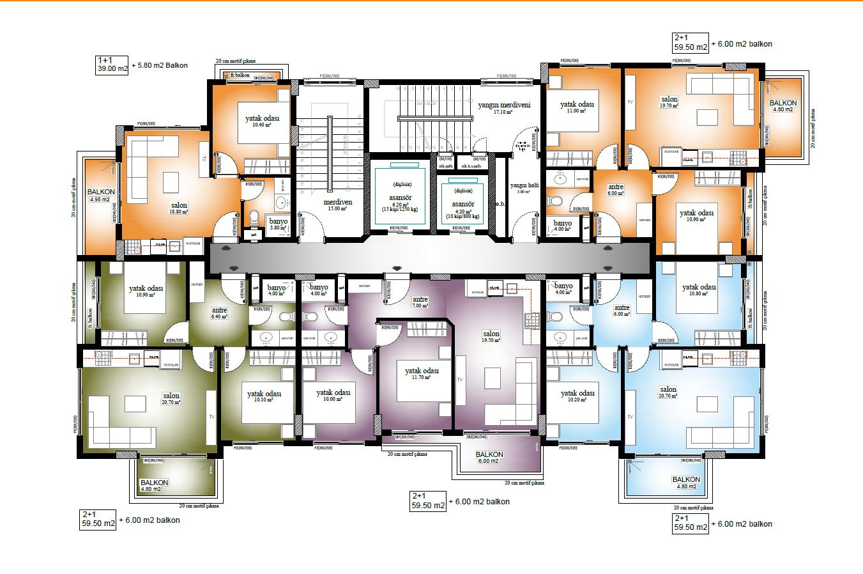 Новые квартиры по ценам застройщика в 250 метрах от пляжа Средиземного моря - Фото 20