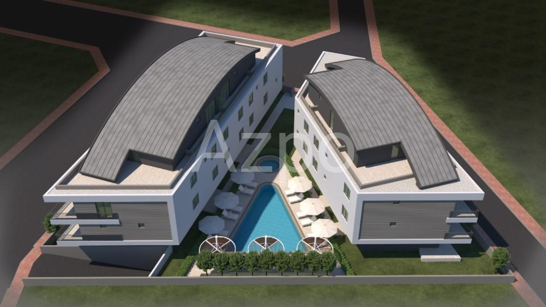 Квартиры планировки 2+1 в районе Гюзельоба Лара - Фото 1