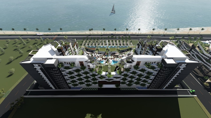 Luxury проект на первой береговой линии в Коньяалты Анталия - Фото 25