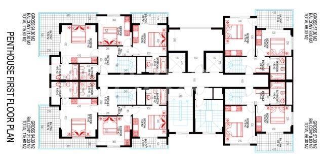 Жилой комплекс от застройщика в Махмутлар - Фото 20