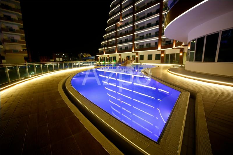 Двухкомнатная квартира в комплексе LUX класса Махмутлар - Фото 11