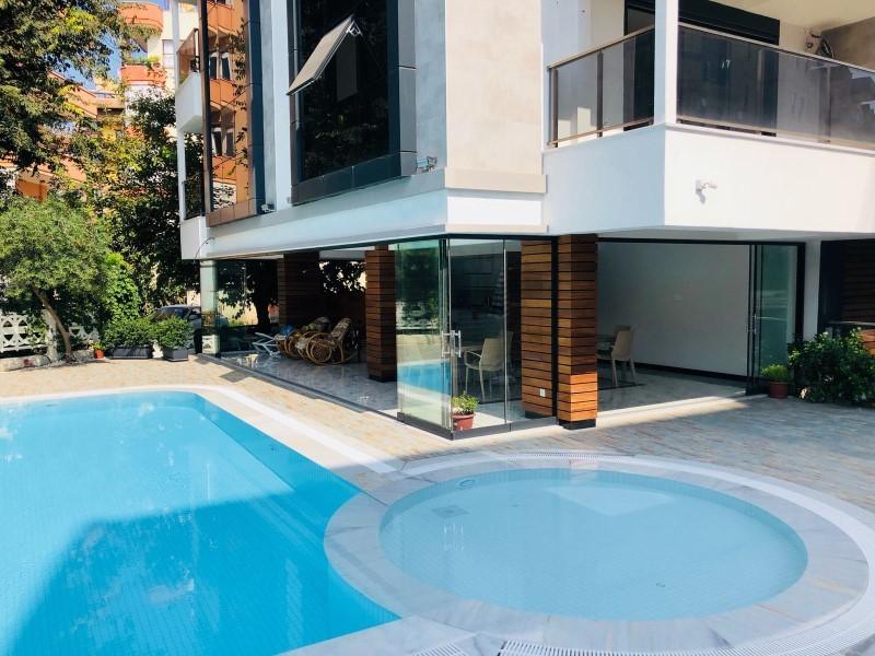 Двухкомнатная квартира с мебелью в центре Аланьи - Фото 2