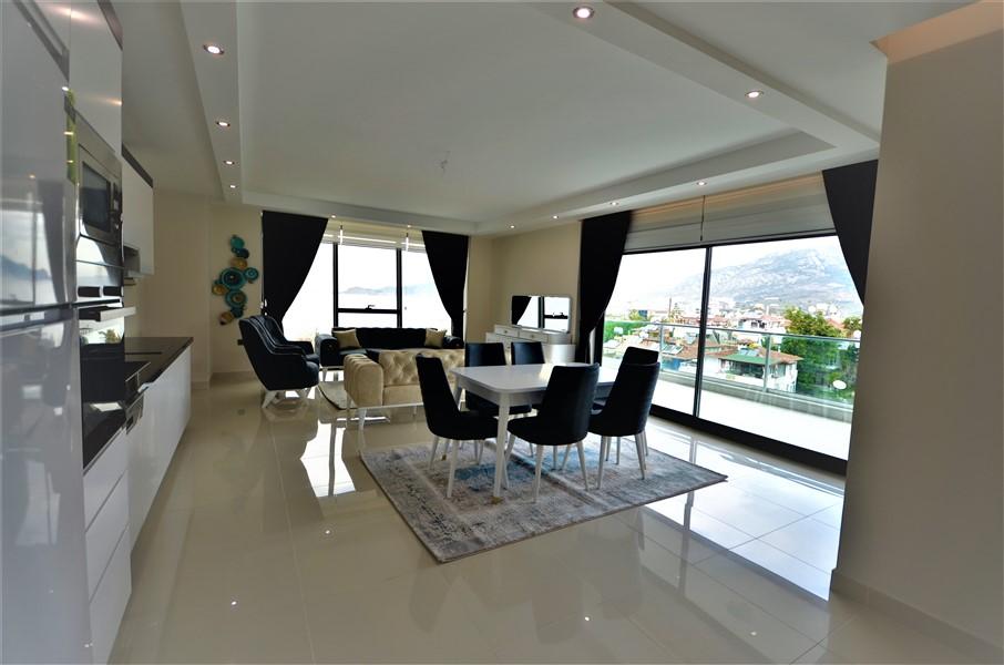 Меблированная квартира 2+1 с видом на Средиземное море - Фото 24