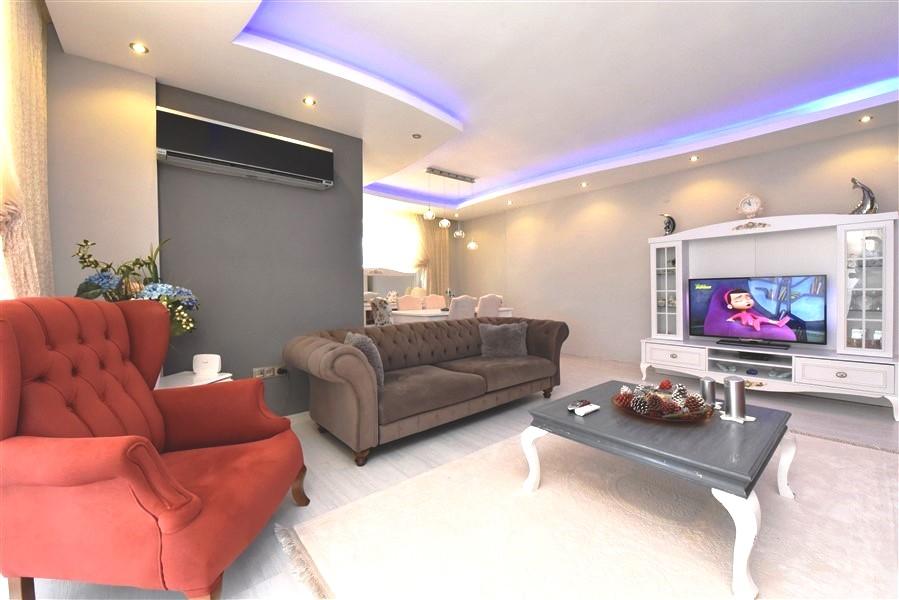 Просторный пентхаус 3+1 с мебелью в Джикджилли - Фото 18