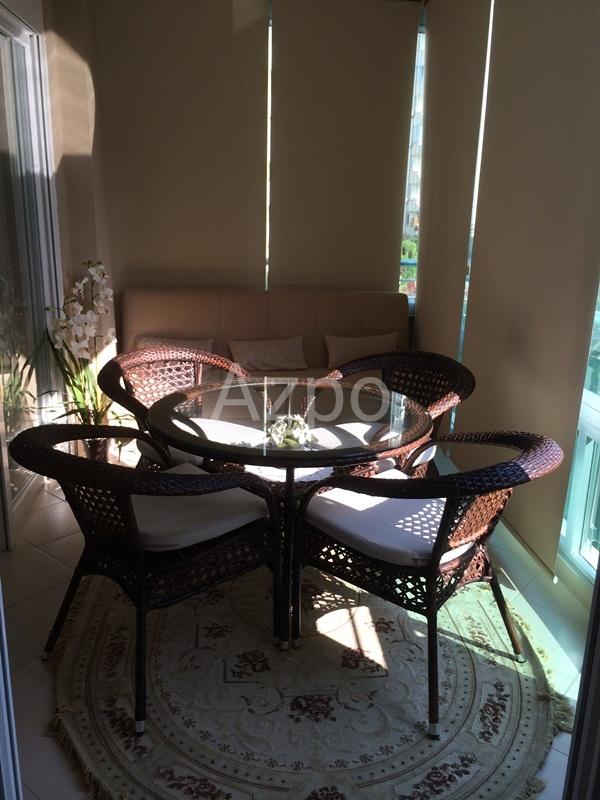 Квартира 3+1 с мебелью в центре района Лара Анталия - Фото 2