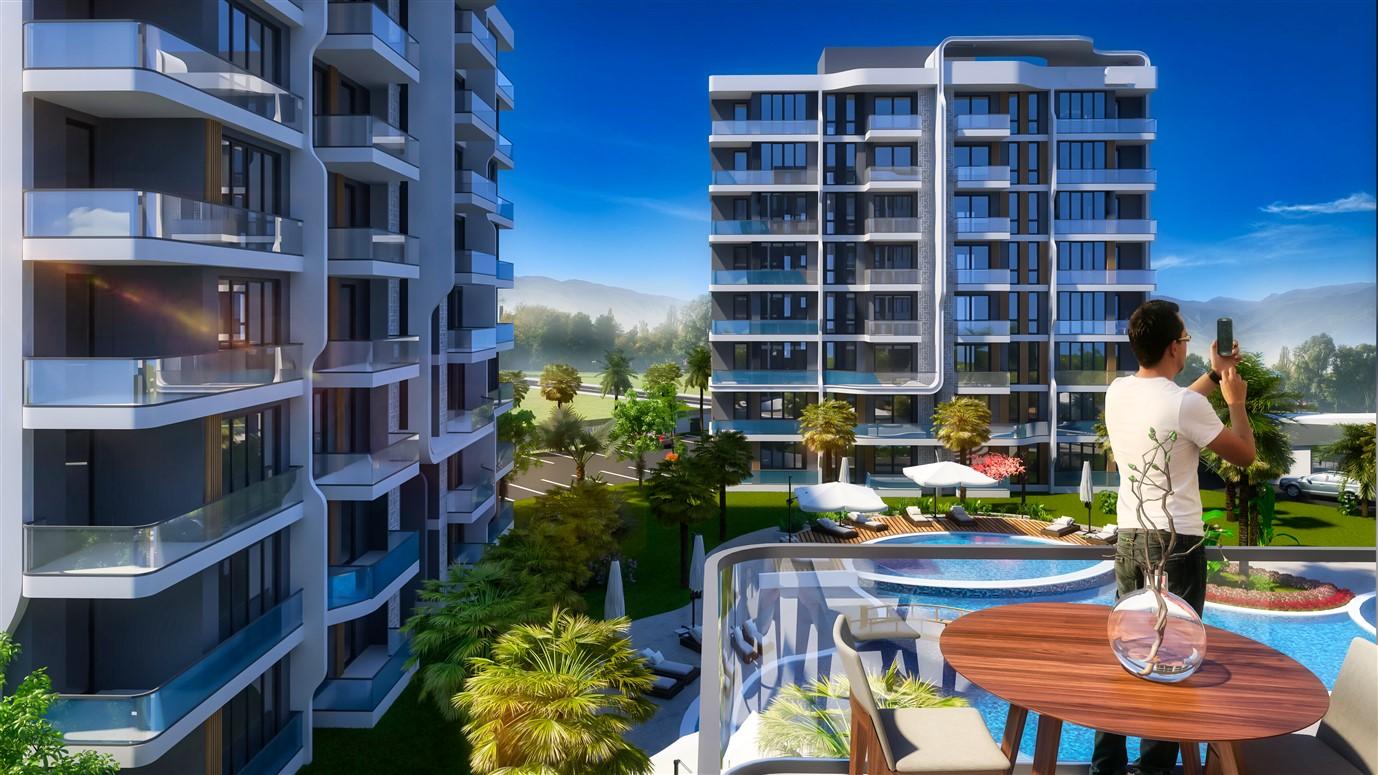 Современные квартиры в элитном комплексе Антальи - Фото 16