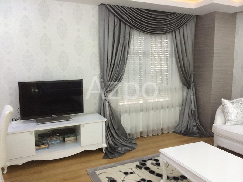 Квартира 3+1 с мебелью в центре района Лара Анталия - Фото 12