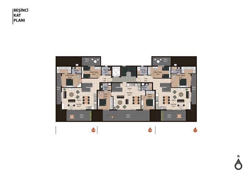 Новый инвестиционный проект жилого комплекса в районе Оба - Фото 18