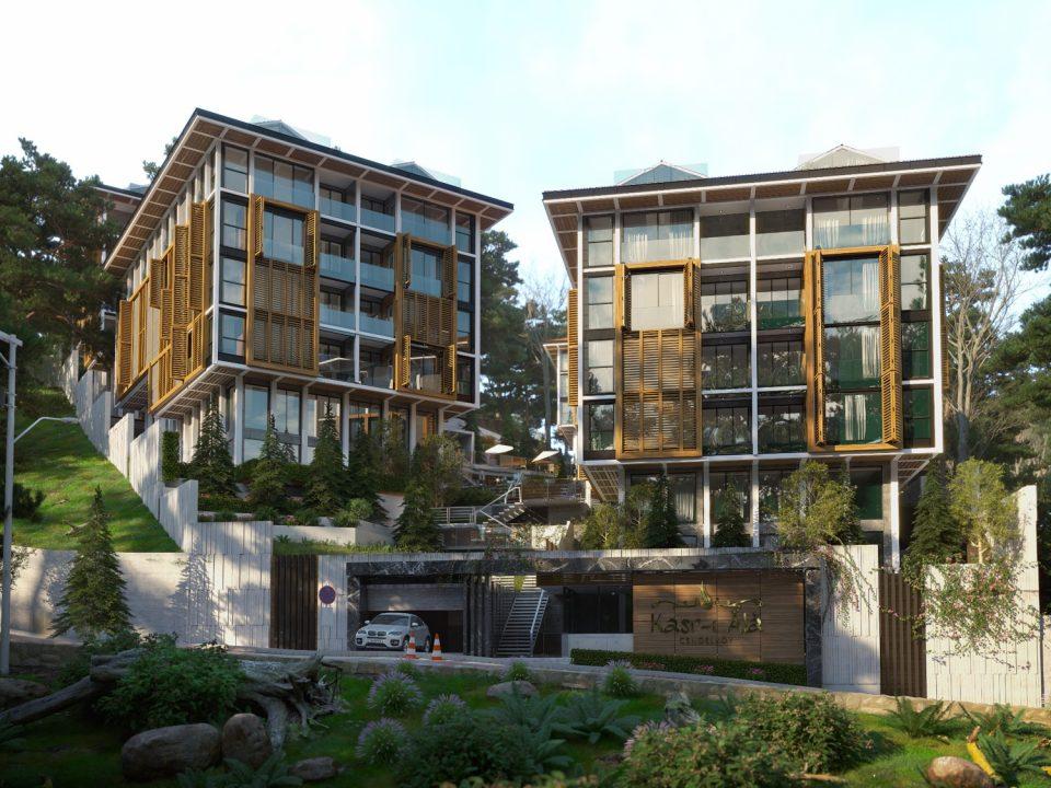 Новый комплекс с видом на пролив Босфор - Фото 11