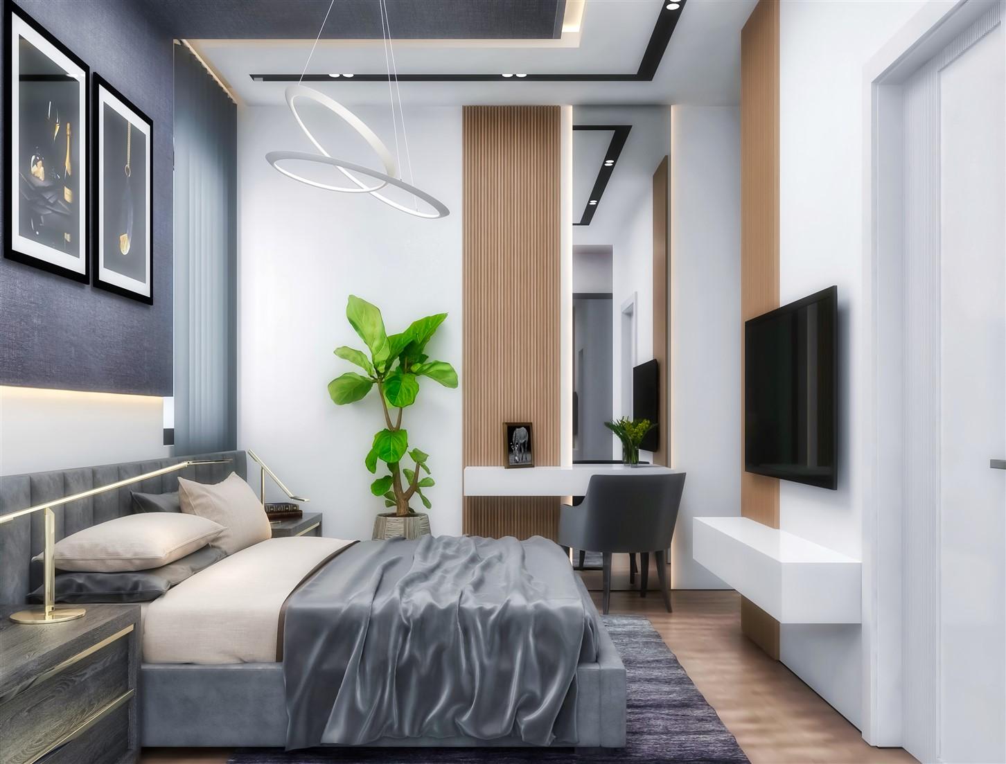 Современные квартиры в элитном комплексе Антальи - Фото 52