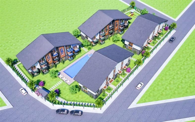 Двухкомнатные квартиры в новом комплексе Фетхие - Фото 1